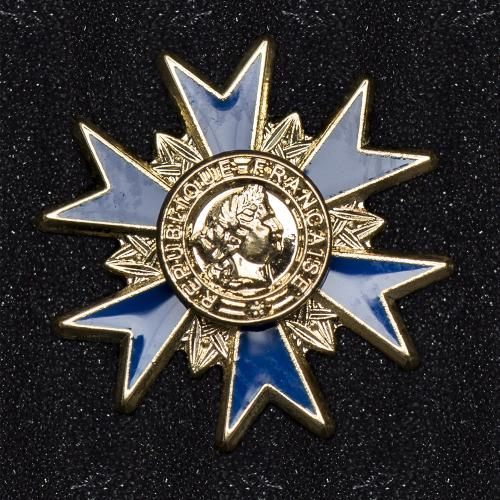 INSIGNE SUR PIN'S ORDRE NATIONALE DU MERITE OFFICIER