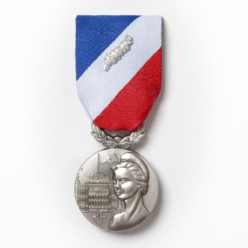MEDAILLE MSI ARGENT